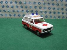 RANGE  ROVER  Vigilant ( Ambulance )      -    Corgi Toys 482