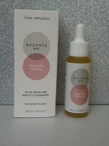 Balance Me Rose Otto Face Oil 30 ml for sensitive skin, new