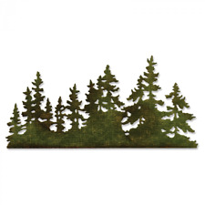 Sizzix Thinlits Tim Holtz Tree Line 661604 stanze Stanzschablone
