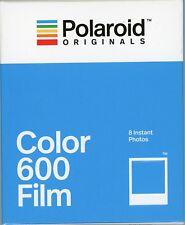 PELLICOLA POLAROID ORIGINALS  COLORI  8 FOTO SERIE 600 instant Film color