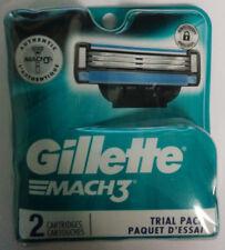 Gillette Mach3 Men's Razor Blades, 2 Cartridges