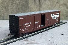 Athearn H0 91220 D & RGW 50' Combination Door Box Car #63294.