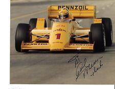 Autographed Rick Mears CART Indy Car Racing Photograph