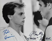 Rob Garrison (1960-2019) & Martin Kove Karate Kid Original Signed 8X10 photo