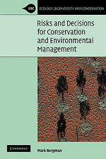USED (VG) Risks and Decisions for Conservation and Environmental Management (Eco
