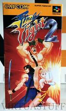 Final Fight 2, Nintendo, Super Famicom, SUPER NES, Japan Market, SFC, completo !