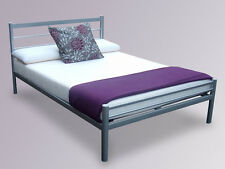 Aluminium Metal Bed Frame In Single Small Double or Kingsize
