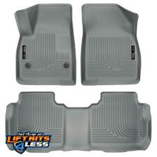 Husky Liner 99142 Grey Front & 2nd Seat Floor Liner for 2017-2019 Cadillac XT5