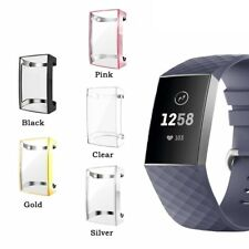 New All-Around TPU Case Soft Protective Cover for Fitbit Charge 4/Charge 3