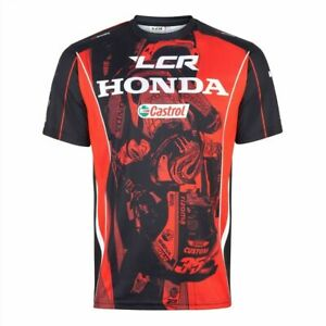 LCR Castrol Honda HRC MotoGP Racing Official Team T Shirt All Over Print