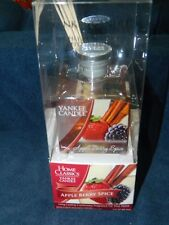 Yankee Candle Apple Berry Spice Fragrance Reed Diffuser 3 oz  NEW
