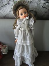Vintage Migliorati Italy Vinyl & Cloth Fashion Doll Carmen with Stand 26.5""