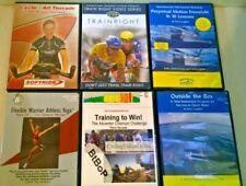 Indoor Cycling Triathlon Training DVD Bundle (CTS, Yoga, TI swimming, Cycling)