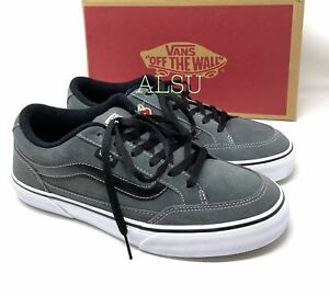 VANS Bearcat Suede Canvas Charcoal Grey Men's  Sneakers VN000DT2CWE