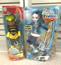 DC Super Hero Girls Bumblebee and Frost- Lot of 2