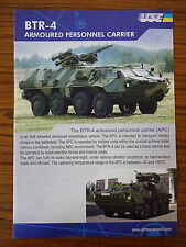 c2000 Advertising Pamphlet: BTR- Armoured Personnel Carrier