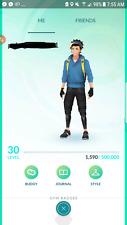 Pokemon Go account Level 30 - No team - Basic Starter