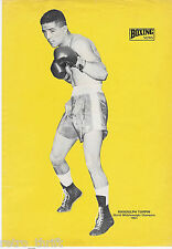 Boxing News Pinup Picture Randolph Turpin World Middleweight Champion 1951