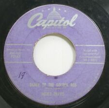 Country 45 Merle Travis - Dance Of The Gold Rod / Re-Enlistment Blues On Capitol
