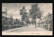London BOWES PARK Palmerston Rd Used 1907 PPC