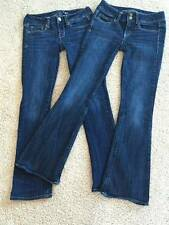 American Eagle Outfitters skinny kick & Artist jeans lot 0S 2S EUC