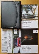 BMW 3 SERIES TOURING F31 HANDBOOK OWNERS MANUAL 2012-2015 NAVI WALLET # D-358 !