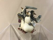 Disney Harmony Kingdom Figurine New At Your Service Penquins Waiters LTD ED RARE