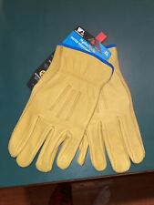 Wells Lamont HydraHyde Water Resistant Leather Work Gloves, Size X-Large