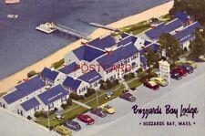 """On Cape Cod"" BUZZARDS BAY LODGE - MASSACHUSETTS"