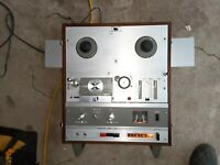AKAI X-1800SD Reel to Reel & 8Track DECK Recorder W/Accessories Box SUPER DELUXE