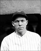 Bill Dickey #1 Photo 8X10 - 1928 Yankees B&W
