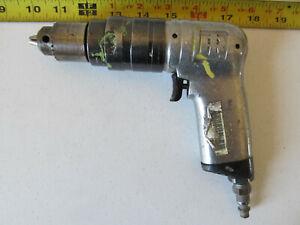 "Aircraft Tools Ingersol Rand 6000 RPM drill W/Jacobs 0-1/4"" chuck"