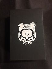 Asylum 13 Huge Leather Three  Cigar Travel Case