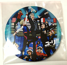 Yuri!!! on ICE Can Badge Button 2017 World Team Trophy Tokyo Limited