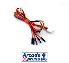 Cable 5 pines Dupont pin Sanwa JLF Seimitsu Joystick USB Arcade Xin Mo Encoder
