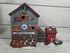 Dept 56 New England Village # 56472 Blue Star Ice Co.