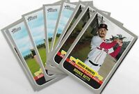 2019 Topps Heritage High Number Award Winners Inserts U Pick From List 1-10