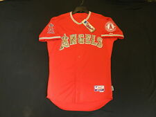 Authentic Anaheim Angels USMC MEMORIAL DAY Marines Cool Base Camo Jersey 44