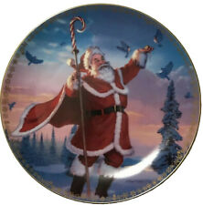 'Santa'S Magic' By Ernie Norcia Danbury Mint Collector Plate #H551