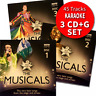 Karaoke Hits - The Musicals Broadway & Film Triple CD+G/CDG Disc Set 45 Tracks