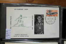 COVER OLYMPICS ROME 1960 FENCING GOLD MEDAL JDANOVICH (C24)