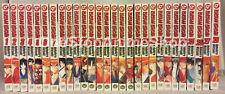 Rurouni Kenshin manga set Volumes 1-28 complete english paperback new