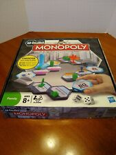 U-Build Monopoly used once great condition family game