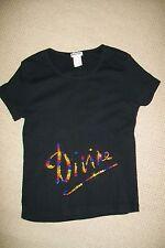 Sonia Rykiel-black cotton stretch top.L.Used.