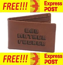 PULP FICTION BMF Bad Mother F*cker Leather Wallet FREE EXPRESS POST USA Official