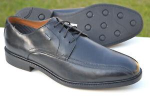 Clarks Mens Formal Shoes CHILVER UP GTX Black Leather UK 10 / 44.5