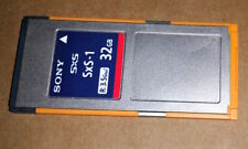 SONY SXS-1 32GB Express Memory Card SBS-32G1B for PMW-EX1 F3 EX3 PMW100 200 EX1R
