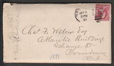 KAPPYSSTAMPS KS1458 USA COVER SCOTT 220 LETTER RE $2250 GIFT TO BROTHER/SISTERS