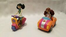 Groovy Girls Mini Poseable Doll Car and Scooter Set