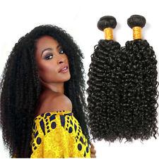 Brazilian Kinky Curly Hair Virgin Human Hair Extensions 1/3 Bundles 12-26 Inches